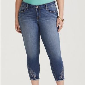 Torrid Denim Skinny Crop Jean